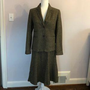 J Crew Tweed Suit